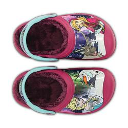 CC Frozen Lined Clog, Berry C6-7 (22-24)